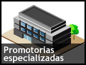 Promotorias especializadas
