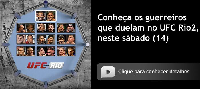 Conheça os guerreiros do UFC Rio2
