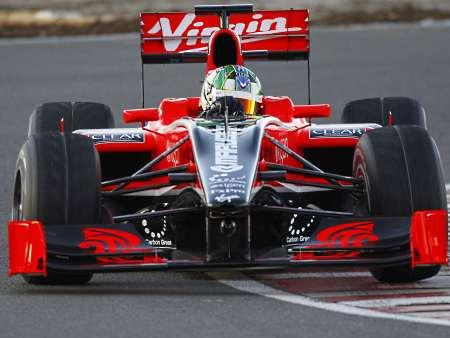 Virgin Racing/Divulgação