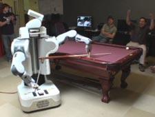 Empresa programa robô para jogar sinuca melhor que muita gente