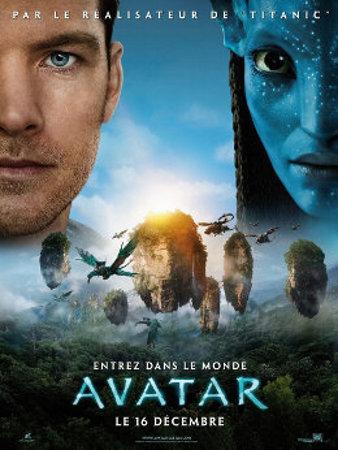 Cartaz do filme Avatar.