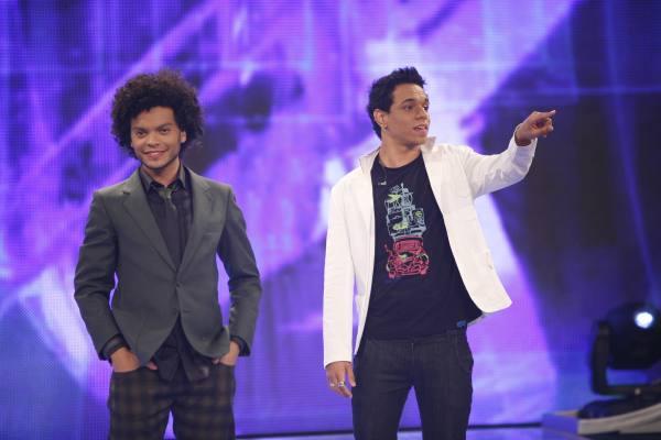 Diego e Saulo - Edu Moraes/Record