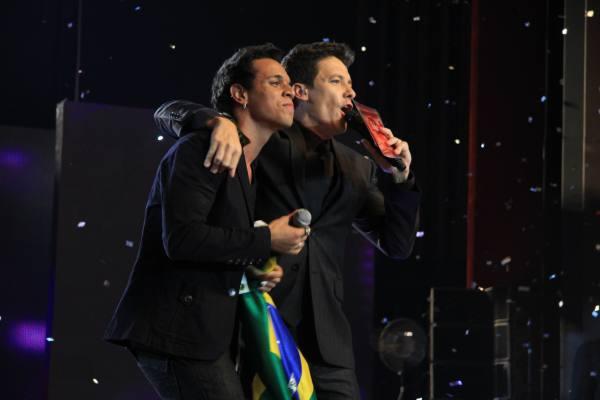 Saulo Roston e Rodrigo Faro