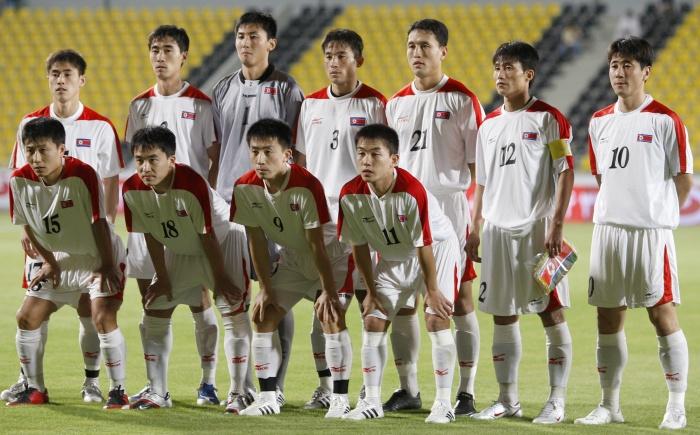 Coreia do Norte seleção - 700