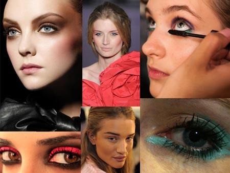 maquiagem desfile de moda