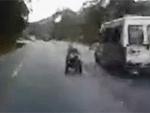 Cadeirante promete abandonar estradas depois de flagra em SC