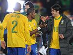 Mauro Silva e Edmundo dizem que camisa do Brasil sempre pesa