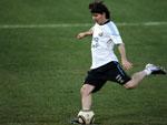 Congestão nasal tira Messi de treino da seleção da Argentina